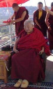 HH Taklung Tsetrul Rinpoche in Simla